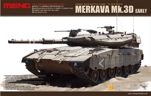 Model Meng TS001 Israel Main Battle Tank MERKAVA Mk.3D Early Version