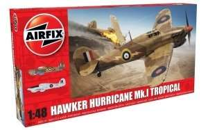 Model Hawker Hurricane Mk. I Tropical scale 1:48