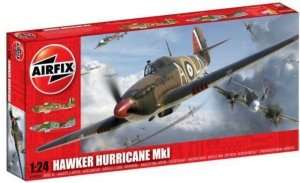 Fighter Hawker Hurricane Mk.I scale 1:24