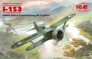 Model ICM 32012 Polikarpov I-153 WWII China Guomindang Air Force Fighter
