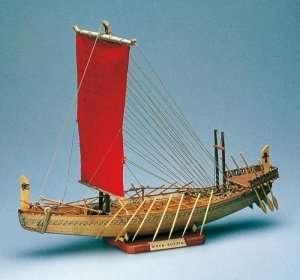 Nave Egizia - Amati 1403 - drewniany model w skali 1:50