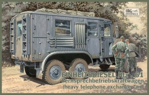Model IBG 35004 German Einheitsdiesel Kfz.61(heavy telephone exchange truck)