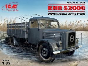 German Army Truck KHD S3000 model ICM 35451 in 1-35