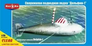 Delphin-I German midget submarine scale 1:35