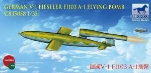 German V-1 Fi103 A-1 Flying Bomb 1:35