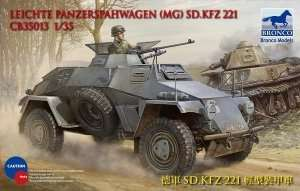 Model Sdkfz 221 Armored Car in 1:35
