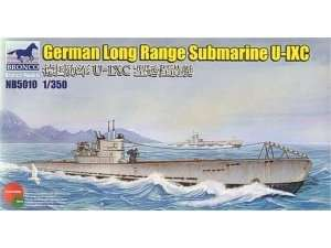 German Long Range Submarine Type U-IXC 1:350