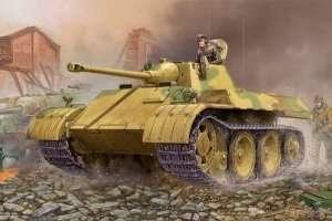 WWII German reconnaisance tank VK 1602 Leopard 1:35