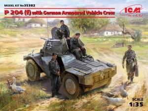 Model P 204 (f) with German Armoured Vehicle Crew ICM 35382
