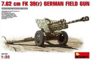 7.62 cm FK 39(r) German Field Gun scale 1:35