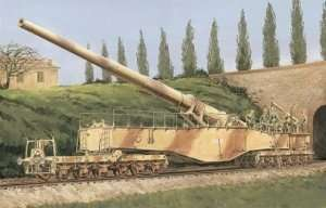 Dragon 6200 German Railway Gun 28cm K5(E)