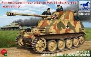 Panzerjaeger II fuer 7.62 cm PaK 36 (Sd.Kfz. 132) Marder II D 1:35