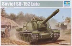 Soviet tank destroyer SU-152 in scale 1-35