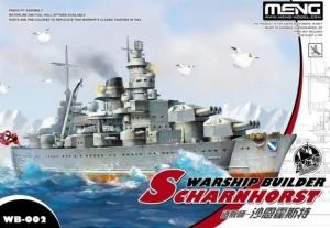 Warship Builder Scharnhorst Meng WB-002