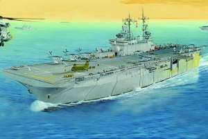 USS Wasp LHD-1 in 1:700 Hobby Boss 83402