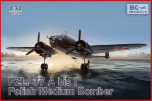 PZL. 37A bis I Łoś Polish Medium Bomber IBG 72512