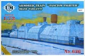 Armored Train Fascism Fighter base variant in scale 1-72