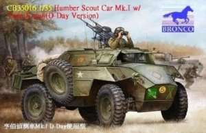 Humber Scout Car Mk. I w/twin k-gun (D-day version) 1:35