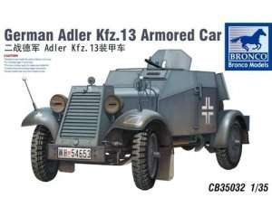 German Armoured Car Kfz.13 Adler 1:35
