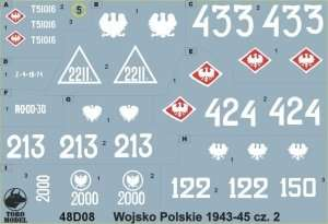 Polish Army 1943-45 vol. 2 - 48D08 in scale 1-48