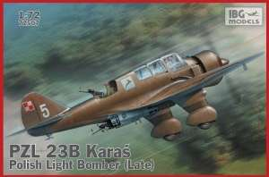 Polish Light Bomber PZL 23B Karaś Late model IBG in 1-72