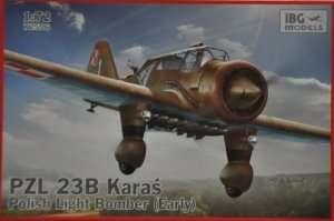PZL 23B Karaś Polish Light Bomber in scale 1-72