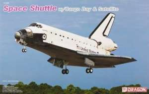 Space Shuttle w/Cargo Bay & Satellite Dragon 11004