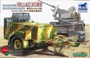 German Sd.Ah.52 37mm Flak Ammunition Carriage Trailer 1:35