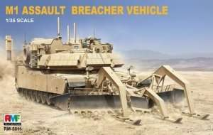 M1 Assault Breacher Vehicle in scale 1-35