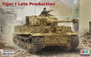 Sd.Kfz.181 Pz.Kpfw.VI Ausf.E Tiger I Late Production model RFM RM-5015