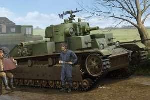 Soviet T-28 Medium Tank (Cone turret) scale 1:35