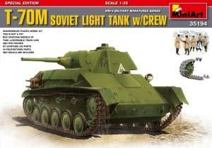 T-70M Soviet Light Tank w/crew scale 1:35