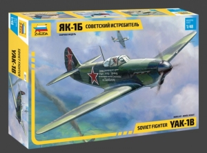 Model Soviet fighter Yak-1b Zvezda 4817