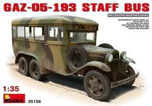 Gaz-05-193 Staff Bus scale 1:35