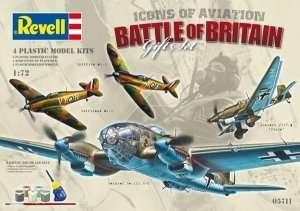 Revell 05711 Bitwa o Anglię - 4 modele samolotów