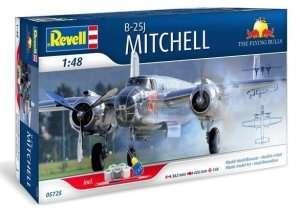 Revell 05725 Bombowiec B-25J Mitchel - zestaw z farbami i klejem