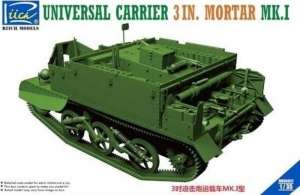 Universal Carrier 3 in. Mortar Mk.1 in 1-35 Riich Models 35017