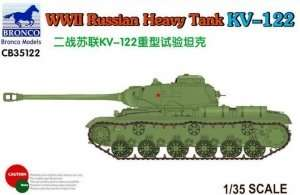 Bronco CB35122 Russian Heavy Tank KV-122 in scale 1-35
