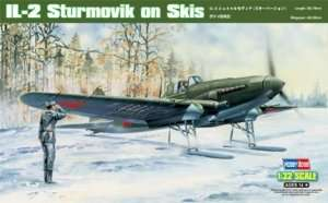 Hobby Boss 83202 Ilyuszyn IL-2 Sturmovik on Skis