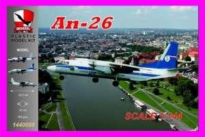 An-26 LOT Cargo model in 1-144