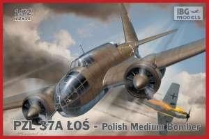PZL 37A Łoś - Polish Medium Bomber scale 1:72 - 72511