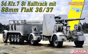 Sd.Kfz.7 8(t) Halfrack and 88mm Flak 36/37 Dragon 6948
