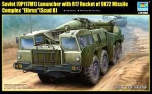 Soviet Launcher with R17 Rocket of 9K72 Missile Complex Elbrus in scale 1:35