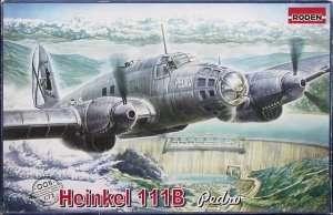 Heinkel He 111B Pedro in scale 1-72 Roden 005