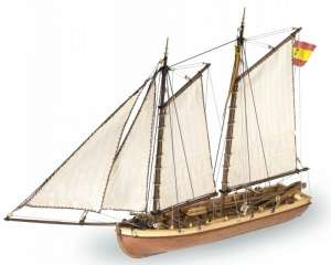 Wooden Model Ship Kit - Principe de Asturias - Artesania 22150