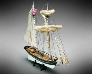 Schooner Alert- Mamoli MV55- wooden ship model kit