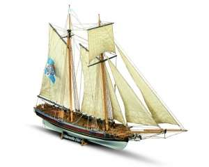 Schooner Marseille - Mamoli MV25 - wooden ship model kit