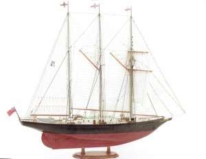 Schooner Sir Winston Churchill - BB706 in scale 1-75
