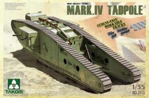 Mark IV Tadpole in scale 1-35 - Takom 2015