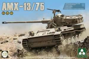 Tank AMX-13/75 in scale 1-35